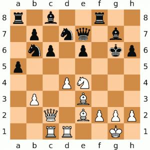 Schachspiel (Symbolbild)